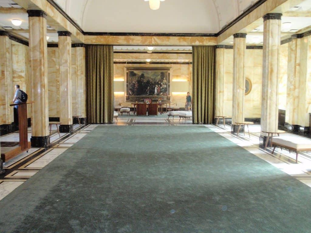 lobby stadhuis Leiden