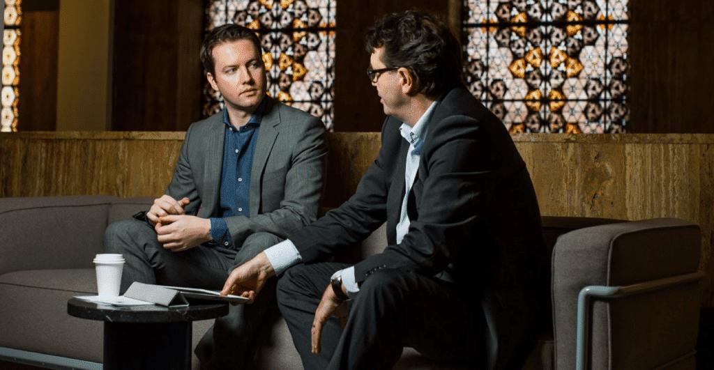 Peter ter Horst en Vincent Nieuwelink