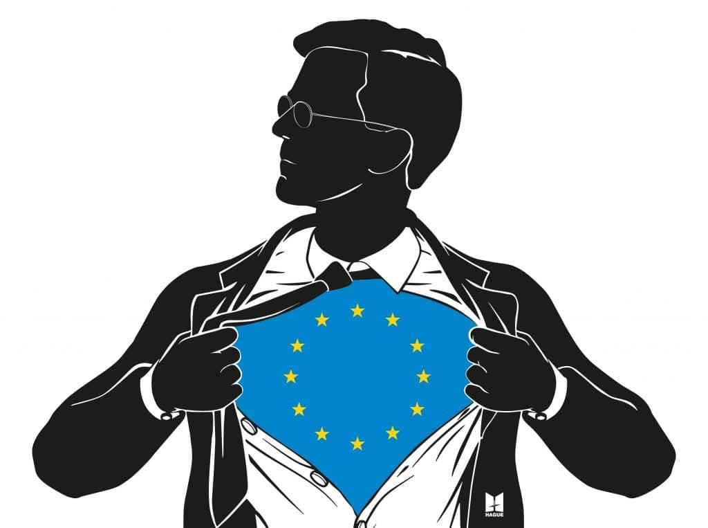 Superman EU Rutte