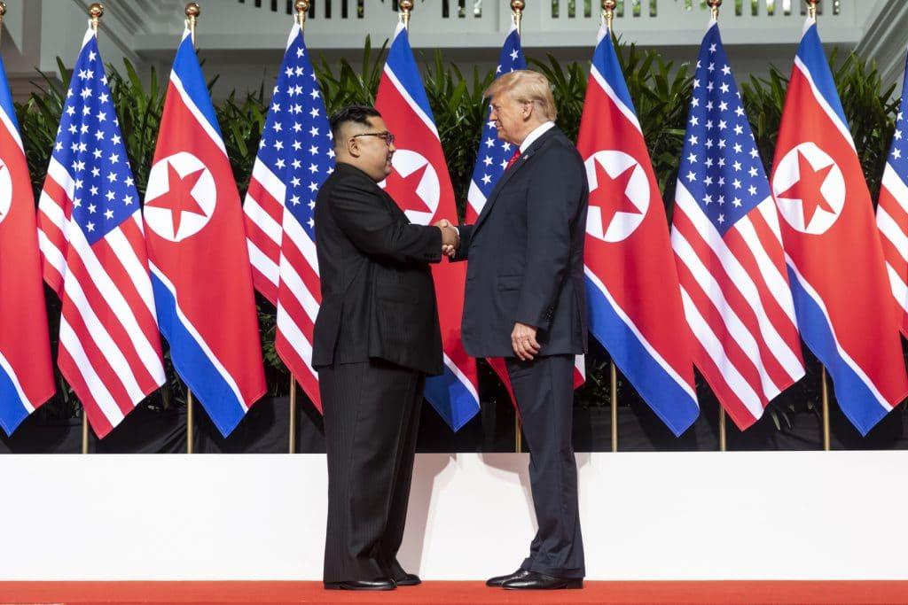Trump en Kim