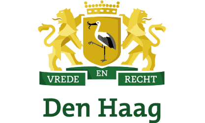 logo vrede en recht den haag