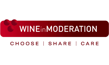 logo wine in moderation
