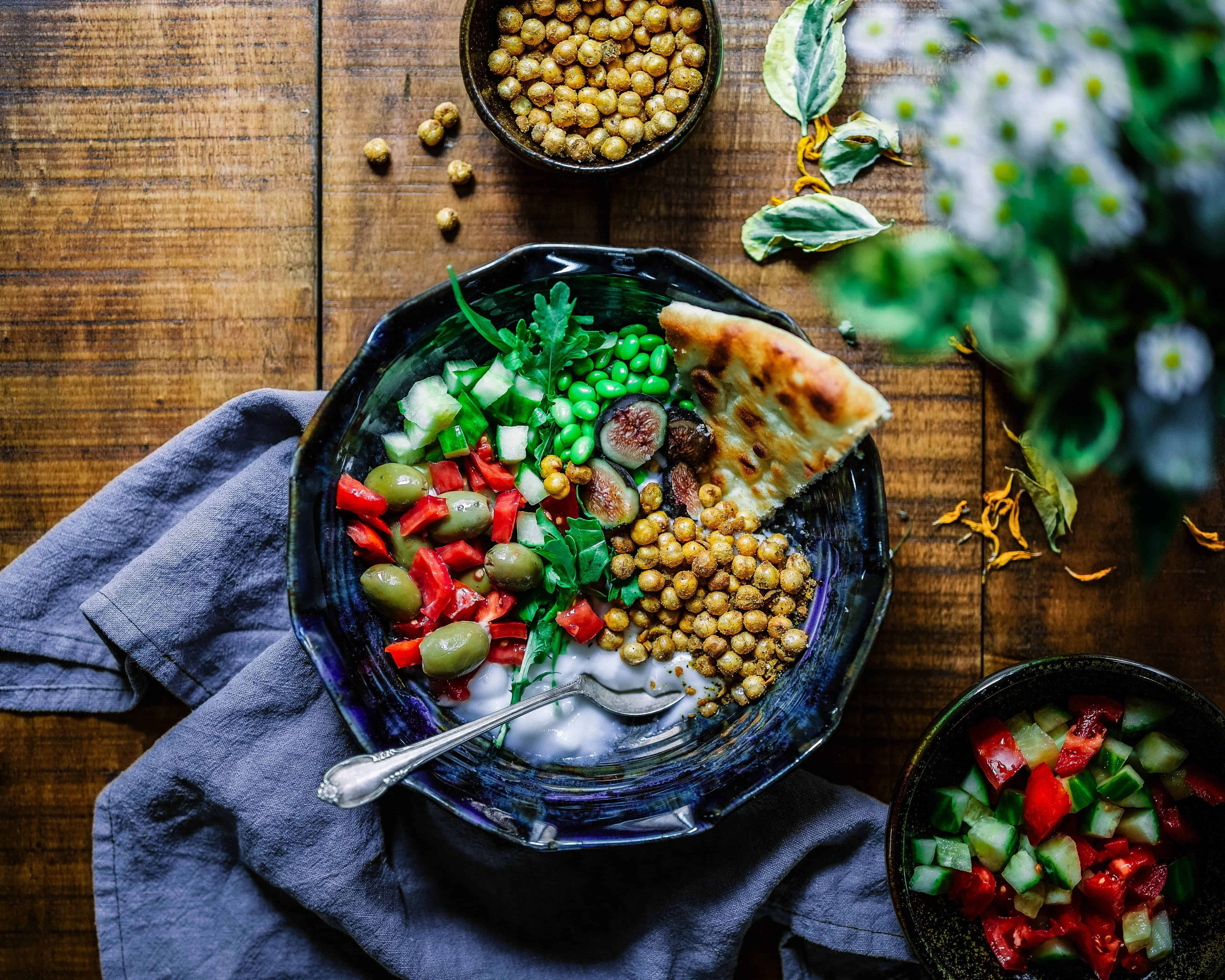 plantbased foods in a bowl