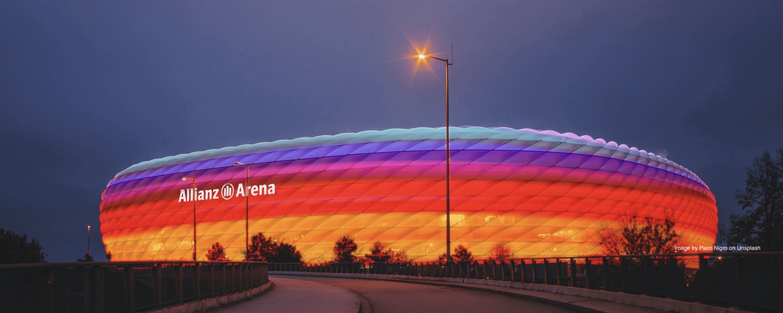 rainbow stadium allianz