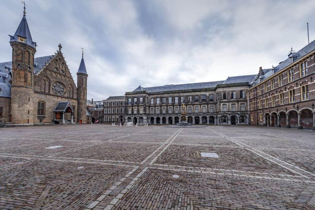 Prinsjesdag Ridderzaal empty